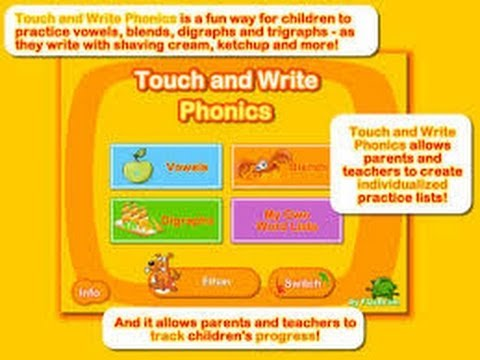 Touch and Write Phonics