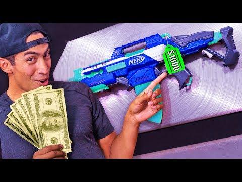 NERF Stash Your Cash Challenge