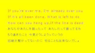 So Yesterday♥Hilary Duff 日本語・英語歌詞付き