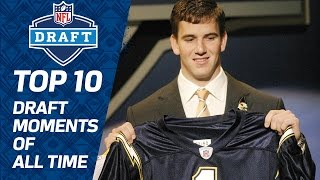 Top 10 Draft Moments of All Time | NFL Films