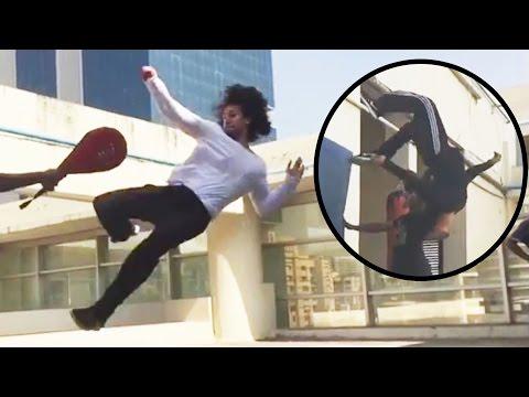 Xxx Mp4 Tiger Shroff Real Life STUNT Training Video Munna Michael Movie 3gp Sex