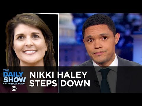 Xxx Mp4 Nikki Haley's Surprise Resignation The Daily Show 3gp Sex