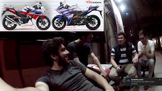 Yamaha Yzf R 25 Mi ? Honda Cbr 250 R Mı ? | Vlog #3