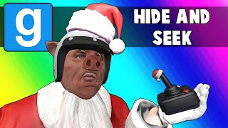 Gmod Hide and Seek Funny Moments - Sleigh Rides and Arcade Games! (Garry's Mod)