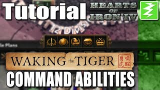 WAKING THE TIGER COMMAND ABILITIES - DAY 4# - Hearts of Iron 4 (HOI4)
