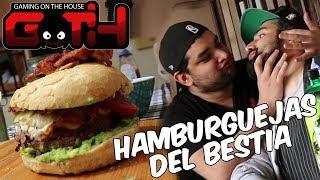 HAMBURGUEJAS AL VAPOR CASERAS! Cocinando con el GOTH en Español - GOTH