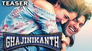 Ghajinikanth (2019) Official Hindi Dubbed Teaser | Arya, Sayyeshaa, Sathish, Rajendran