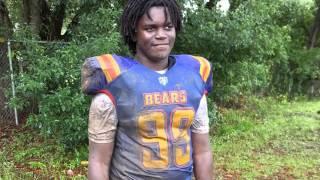 2015 Karlos Jackson Jr. - CLAY Bears Football 12u Blue