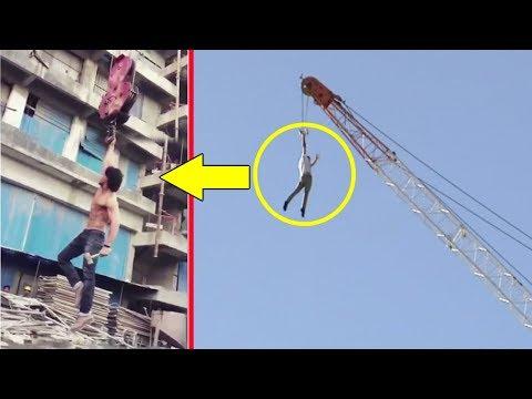 Xxx Mp4 Tiger Shroff S Amazing Stunt On Crane For Baaghi 2 3gp Sex