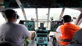Heli BNPB Mulai Jatuhkan Bom Air di Wilayah Kalsel