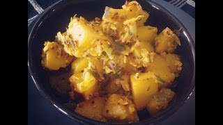 Hot and Spicy Potato Recipe (South Indian style Potatoes)