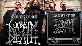 NAPALM DEATH - The Best Of Napalm Death (Compilation-2016)