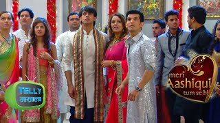 Shikhar and Ishaani at Devarsh's Engagement Function in Meri Aashiqui Tumse Hi | Colors