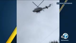 Oprah shares video of Montecito mud damage | ABC7