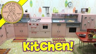 Mini Cooking Channel Announcement, First Look Complete Kitchen!