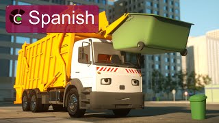 George el camión de basura (SPANISH) - George the Garbage Truck (Real City Heroes)