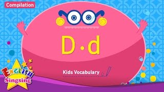 Kids vocabulary compilation - Words starting with D, d - Learn English for kids