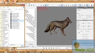 Free iClone 5.5, 6, 7 zoo 78 animals Download link // Blender ATX