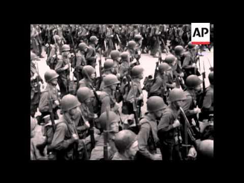 watch PARADE OF US TROOPS - PARIS - SOUND