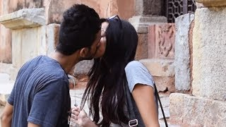 Kissing Prank India | AVRprankTV