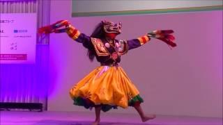 Cham Dance by The Royal Academy of Performing Arts (Bhutan):ブータン伝統芸能 (民族舞踊)『パク ・チャム』(豚の舞) ブータン王立舞踊団