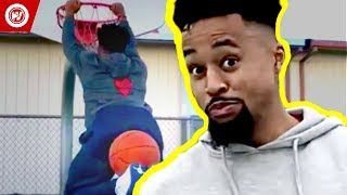 Basketball Player Impersonations   Marcelas Howard