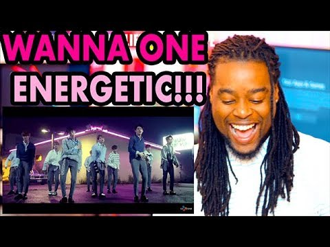 Wanna One (Energetic) MV | HUMAN PIANO?!  | REACTION!!(워너원) - 에너제틱