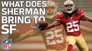 What Richard Sherman Will Bring to the 49ers Defense | Film Review | NFL Highlights