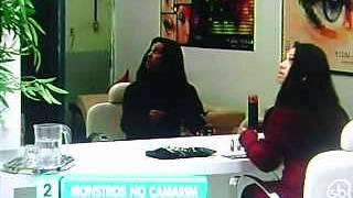 ZUMBIS NO CAMARIM - PEGADINHA PROGRAMA SÍLVIO SANTOS 20/10/2013.