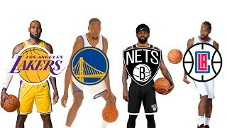 """NBA Stars """"First Bucket"""" with New Teams!"""