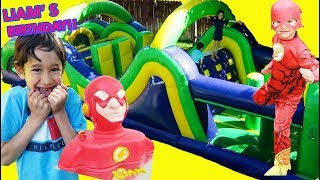 THE FLASH  LIAM'S 6th Birthday Party