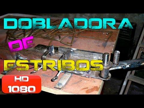 Tutorial Dobladora de estribos Bender iron bars for construction