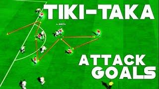 PES 2016 PC - Tiki-Taka / Pass / Attack / Goals [HD]