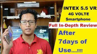 Intex Aqua 5.5 VR Full Indepth Review After 7 days of Use   Data Dock