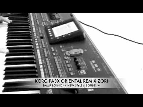 KORG PA3X ORIENTAL Sha3bi New style sound sampler loop
