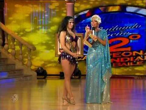 Disco México Alessandra Rosaldo y Luis David Bailando por un Sueño 2CMB 16 05 10