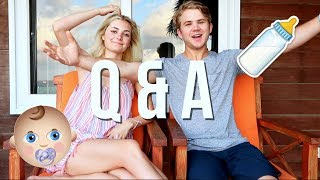 WHEN ARE WE HAVING BABIES!? | Q&A