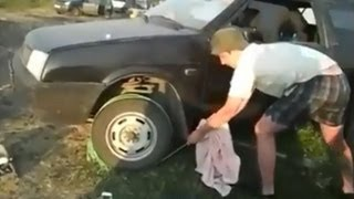 Easy Way to Start a Car with a Dead Battery