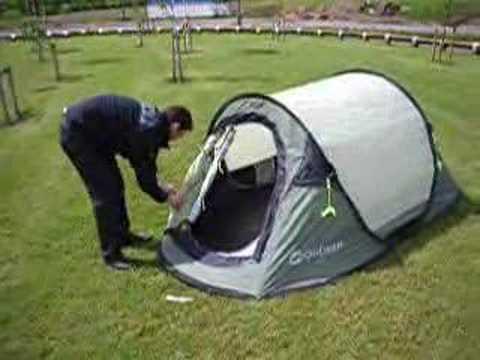 Pop Up Tent Video