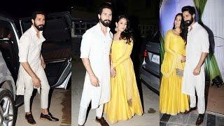 Shahid Kapoor With Wife Mira At Mandana Karimi's Wedding Bash