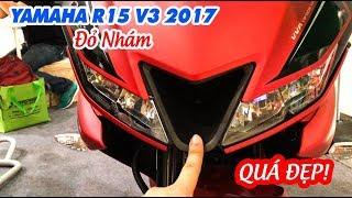 Yamaha R15 V3.0 2017 Đỏ Nhám ▶ Sờ và Cảm nhận quá đã!