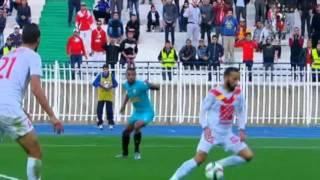 هدف مباراة ( شباب رياضي بلوزداد 1-0 نادي مولودية الجزائر ) الدوري الجزائري