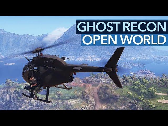 Ghost Recon: Wildlands - Spieler, schaut auf diese Open World!