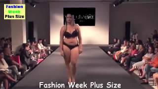 Fashion Week Plus Size 2017-Plus Size Lingerie For Ladies Fashion -Walks In Bikini - Fashion Show .