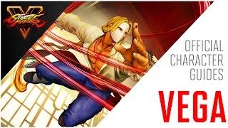 SFV: Vega Official Character Guide