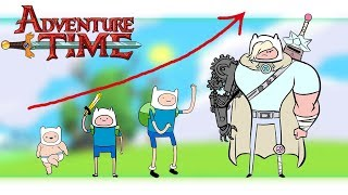✅Aventure Time Growing Up Compilation   Zilo TV