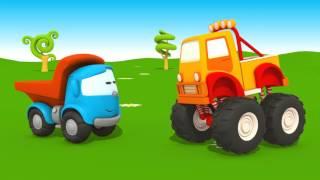 Léo le camion curieux 1h Compil des dessins animés éducatifs
