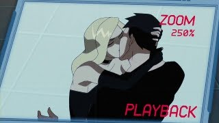 Young Justice -- Kiss Scenes