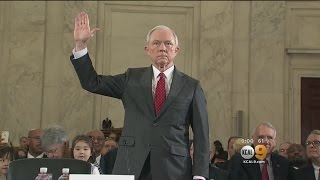 Drama Surrounds Confirmation Of Sessions As Attorney General
