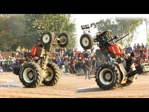 Gaggi Bansra 855 - Tractor Stunt